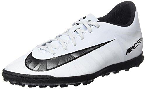 Nike Herren Mercurial X Vortex III CR7 TF 852534 401 Fußballschuhe, Blau (Blue Tint/Black/White/Blue Tint), 43 EU