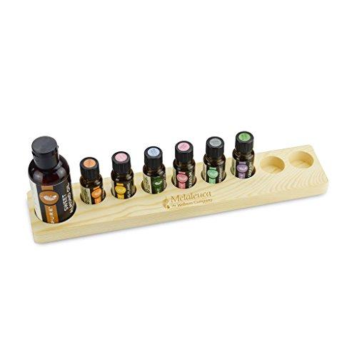 Trousses à maquillage Présentoir à Huile de pin Vanit (Color : Beige)