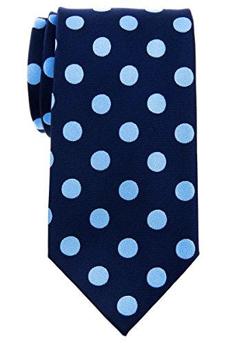 Retreez Corbata de corbata de microfibra tejida con lunares vintage con clase de 3.15 pulgadas para hombre