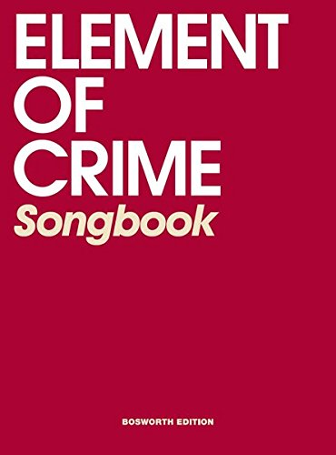 Element Of Crime Songbook