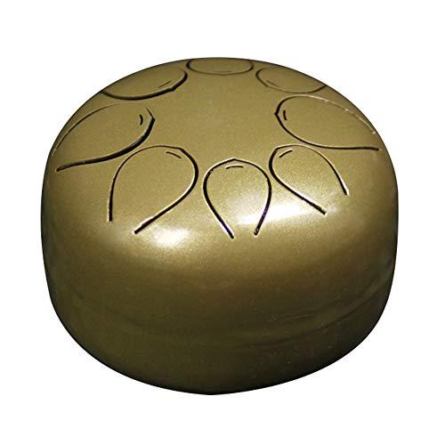 FeiyanfyQ Chanting Drum Chanting Healing Yoga Meditation Harmonic and SoothingSound Cantando tambor, dorado