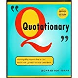 Quotationary