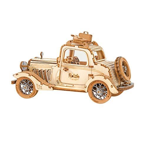 Rolife Puzzle 3D Madera Auto Antiguo...