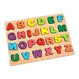 Amagogo Buntes Puzzle-Brett Spielzeug Pädagogisches Alphabet Zahlenerkennung Intelligenz Eltern-Kind-Feinmotorik Hand-Auge-Koordination - Stil 2