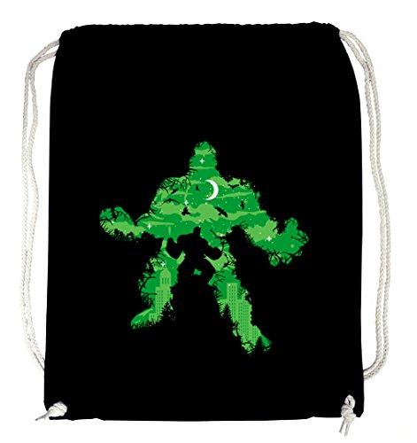 Certified Freak Green Monster II Gymsack Black