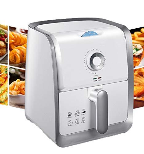 NANXCYR Luchtdroger met Rapid Air technologie voor koken, bakken in de oven en gezond grillen – wit, 3 l