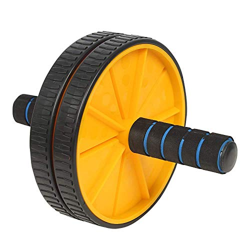 Oddish;way to fitnessAB Roller, Dual-Wheel Abs Carver with Thick Knee Pad for Abdominal and Core Workout for Men and Women