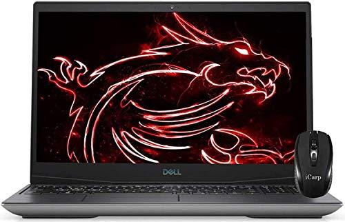 2020 Flagship Dell G5 15 Gaming Laptop 15.6' FHD Display 10th Gen Intel Hexa-Core i7-10750H 16GB DDR4 512GB PCIe SSD 1TB HDD 4GB GTX 1650 Ti Backlit Thunderbolt HDMI Win 10 + iCarp Wireless Mouse