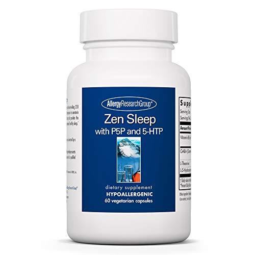 Allergy Research Group - Zen Sleep - Vitamin B6, GABA, L-Theanine,...