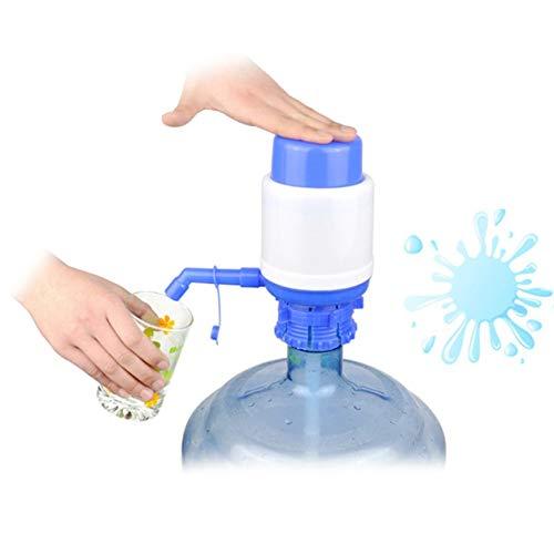 Kongqiabona-UK Dispensador de Agua Dispensador de Agua Potable Manual a presión Manual portátil Tubo extraíble Acción de vacío Bomba de Botella de Agua Herramientas de Grifo de Cocina