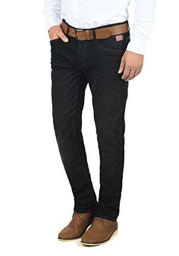 Blend Taifun Herren Jeans Hose Denim Aus Stretch-Material Slim Fit, Größe:W32/32, Farbe:Denim Black (76204)