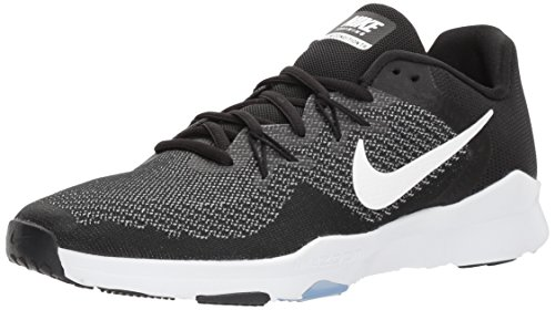 Nike W Zoom Condition TR 2, Zapatillas de Deporte Mujer, Multicolor (Black/White/Gunsmoke 001), 44 EU