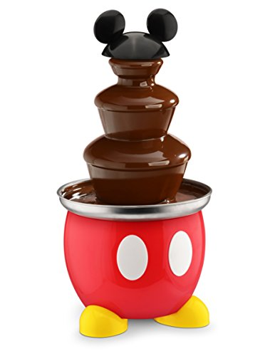 Disney DCM-50 Mickey Mouse Chocolate Fountain, Red