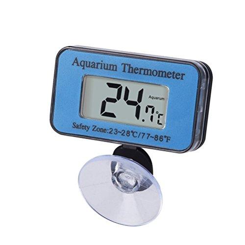 UEETEK Termómetro digital impermeable para acuario con vent