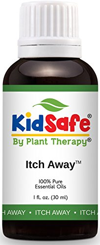 Plant Therapy KidSafe Itch Away Synergy Essential Oil 30 mL (1 oz) 100{0b43e8b96f3a64ea9c0d4a4523472ede3d1328e36dd27d87733b78b5da066fad} Pure, Undiluted, Therapeutic Grade