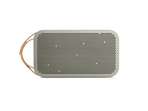 Bang & Olufsen Play BeoPlay A2 Bluetooth Lautsprecher (portabler, 24h Akku, 15 Watt) grau