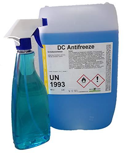 DC Antifreeze Scheibenenteiser 20 Liter Kanister + Triggersprayer - Entfroster - Defroster