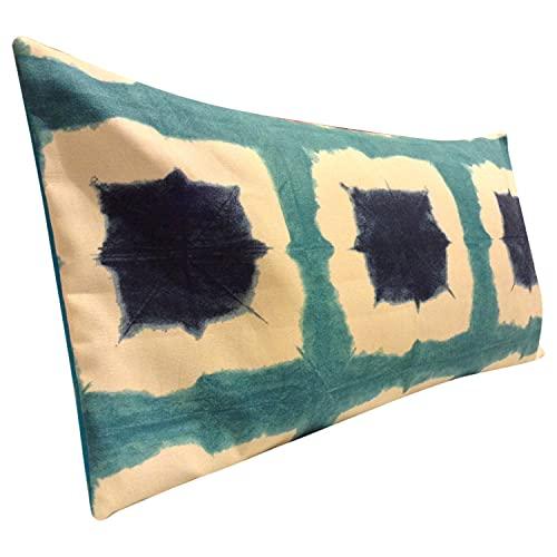 Funda de cojín para sofá cama para mamá y papá Scion Shoji topacio azul e índigo Bolster funda de cojín para el baño del té del café