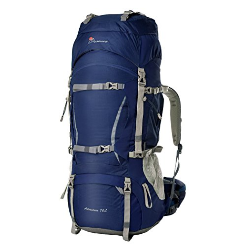 Oxking 70L Outdoor Hiking Trekking Camping Backpack Waterproof Mountaineering Bag Large Travel...