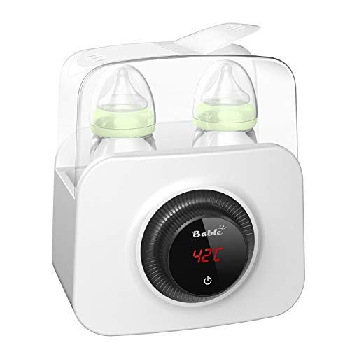 Bable Flaschenwärmer丨Sterilisator für Babyflaschen丨Babykostwärmer丨Multifunktionale Baby Flaschenwärmer mit Ernährungsschutz-Technologie and LCD Bildschirm