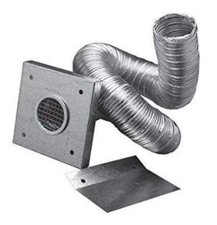 Read About Simpson Dura Vent 2 X 10' Outside Air Kit Aluminum Flex Pipe Kit for Pellet Stove Fresh ...