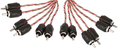 Stinger SI4617 17-Foot 4000 Series Interconexiones RCA profesionales de 6 canales