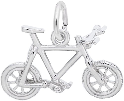 Rembrandt Charms Sterling Silver Mountain Bike Charm