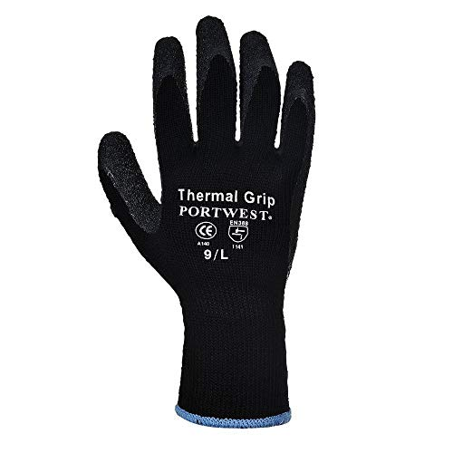 Portwest - Guantes para mujer, X-Large, amarillo y gris, 1