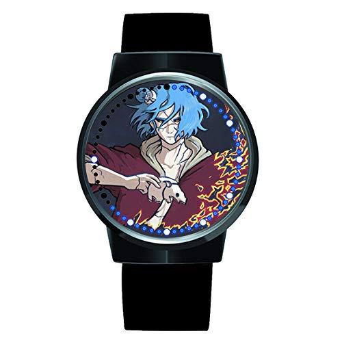 Anime Reloj Naruto Reloj de Pulsera con Pantalla táctil Led Resistente al Agua, Reloj de Pulsera...
