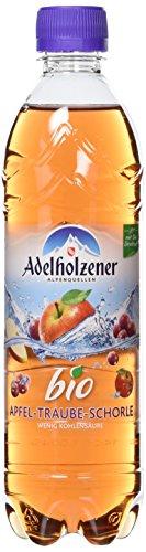 Adelholzener Bio Apfel -Traubenschorle, 18er Pack, EINWEG (18 x 500 ml)