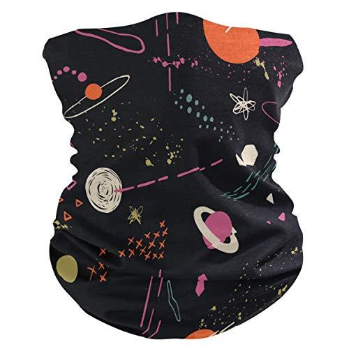 Funnyy Space Planet Nebula - Polainas para el cuello, bandana, pasamontañas, cubierta para el polvo, sin costuras, mágico, pañuelo para la cabeza, multifuncional, diadema para deportes al aire libre, yoga, correr