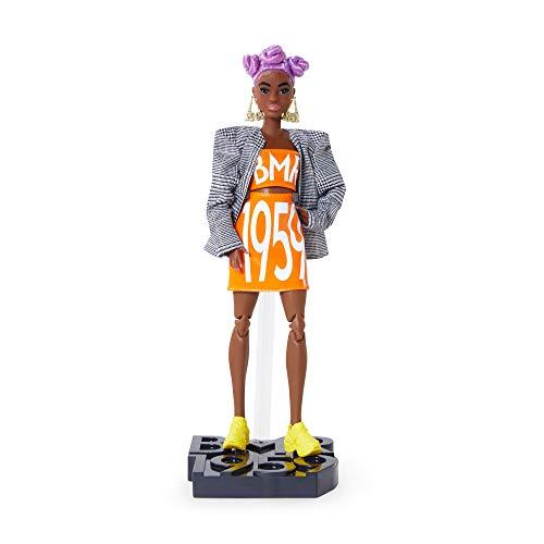 Barbie GNC46 - Barbie BMR1959 Barbie (lilahaarig) Streetwear Karo-Blazer, Spielzeug ab 6 Jahren