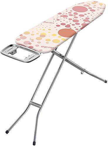 Vileda Neo Bügeltisch, Pink, Handliche Bügelfläche: 114 x 33cm
