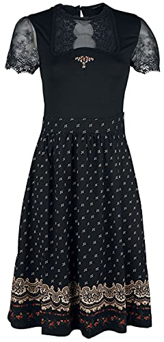 Vive Maria Heidi Lace Dress Black, Größe:XL