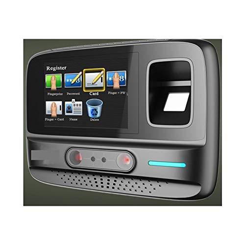 HEQIE-YONGP Timeuhren für Mitarbeiter Kleinunternehmen Anwesenheits-Management-System WiFi Wireless-Gesichts-Fingerabdruck-Passwort Biometrische Geräte Gesichtserkennung