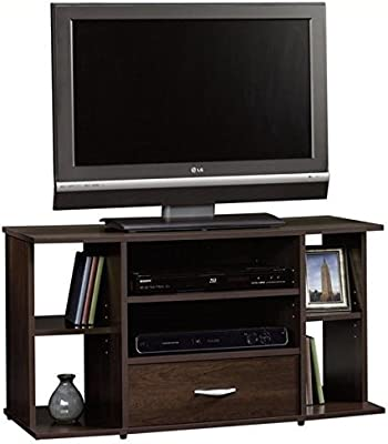 Sauder Beginnings Panel TV Stand Cinnamon Cherry [並行輸入品]