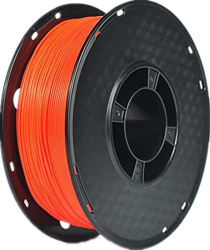RANKI TPU Filament 1.75 mm Flexible TPU, 3D Printer Filament, Dimensional Accuracy +/- 0.05 mm, 98A,1kg Spool,Orange