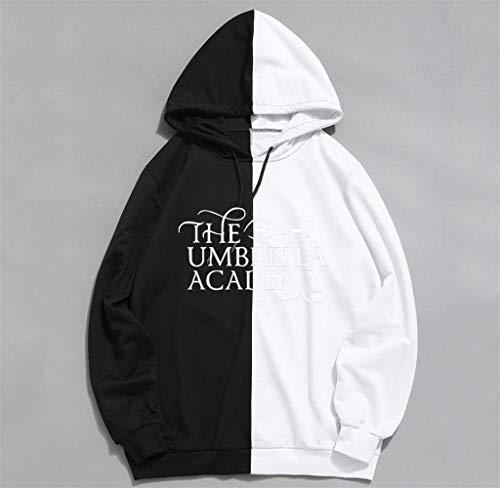 2020 Parapluie Academy Saison 2 Mode Nouveau Imprimé Hommes/Femmes Sweat à Capuche Casual Streetwear Hoodies Taille S-XXL - Noir - Large