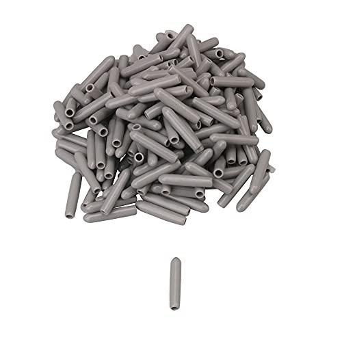 Mxfans 200 tapas de rosca de alambre de PVC para lavaplatos, 0,3 x 1,6 cm