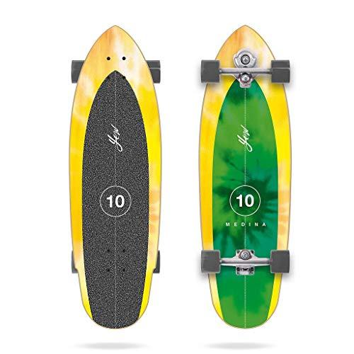 YOW Skateboard Surfskate Skateboard Medina Tie Dye 33