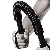 Pratique Power Twister Flexible Force Poitrine Bras Rod Exerciseur Pince À Main,Barre À Ressort Curl Renforce Les Biceps Épaules,Fitness À Domicile,Stretching,Musculation, Physiothérapie-88LBS (40kg)