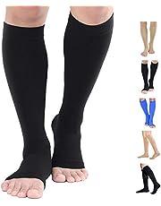 Compression Stockings, Open-Toe & Close-Toe, 20-30mmHg & 15-20mmHg