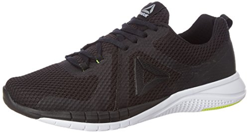 Reebok BS5254, Zapatillas de Trail Running para Hombre, Negro (Black/White/Solar Yellow/Pewter), 41 EU