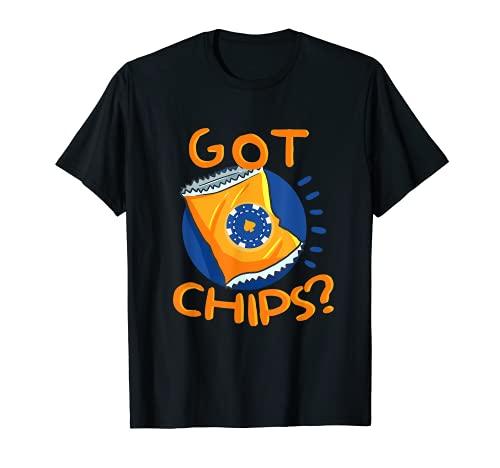 Got Chips Funny Poker Card Casino Gambler Camiseta