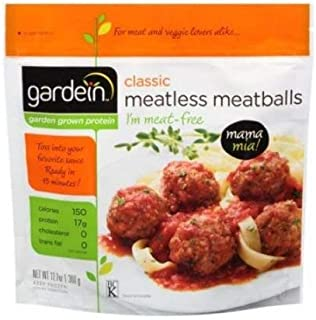 Gardein Non-Gmo Vegan Classic Meatless Meatballs 12.7 Ounce (Pack of 8)