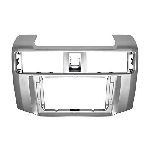 CLEIO 9inch Car Fascia Audio Adaptador Adaptador de Radio Navegación Kits de Panel de navegación Coche DVD Frame Dashboard Fit para Toyota 4RUNNER 2010-2020
