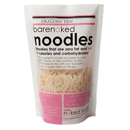 Bare Naked Noodles Original Noodles 380 g (Pack of 5)