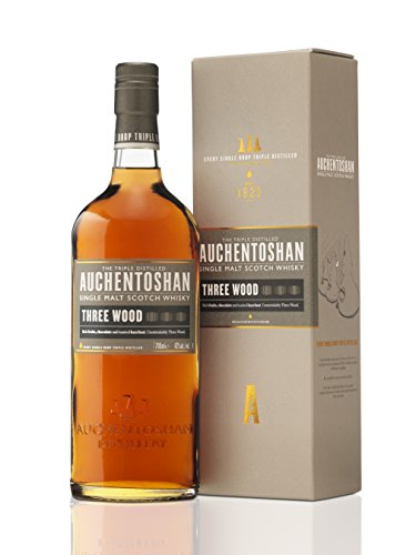 Auchentoshan Three Wood Single Malt Whisky Escoces, 43% - 700 ml