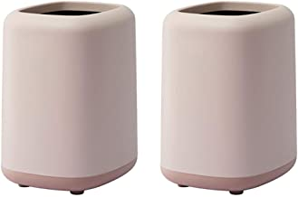 Recycling Bin Plastic Trash Can Garbage Can Wastebasket Garbage Container Bin for Bathrooms Powder Rooms Kitchens Home Off...
