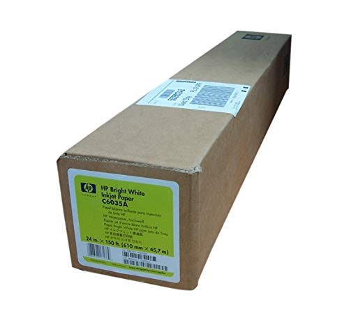 HP C6035A Bright White 610MM X 45,7M printerpapier